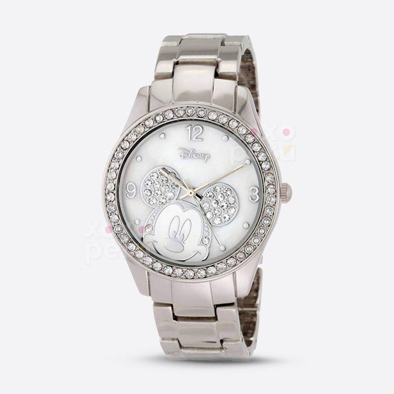 Reloj Disney plateado