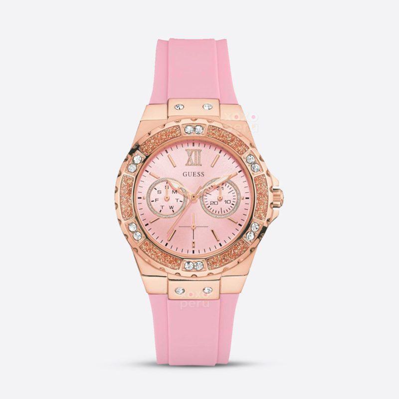 Reloj Guess rosa para mujer