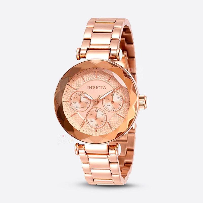 Reloj invicta gold rose